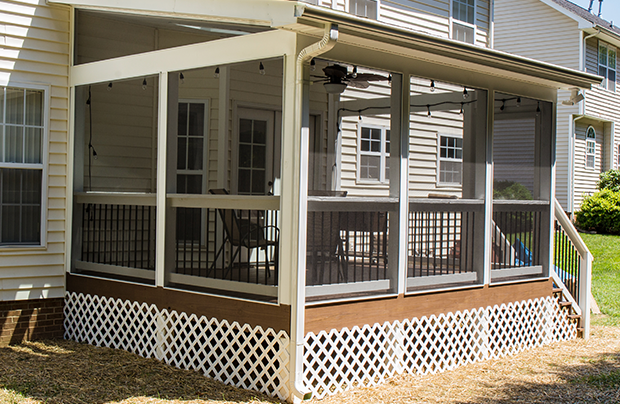 Deck Remodeling in Greensboro, Winston Salem, High Point, Triad Area Example