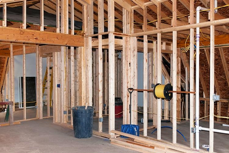 Home Addition in Progress Turner Remodeling Greensboro Winston Salem High Point