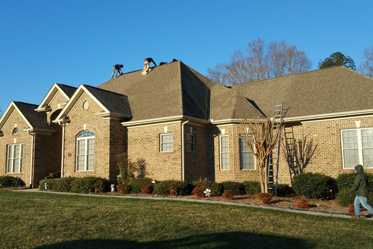 Roofing Services Greensboro Winston Salem High Point Example Before