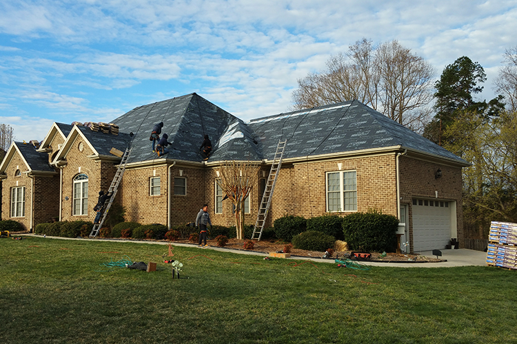 Roofing Services Greensboro Winston Salem High Point Example During