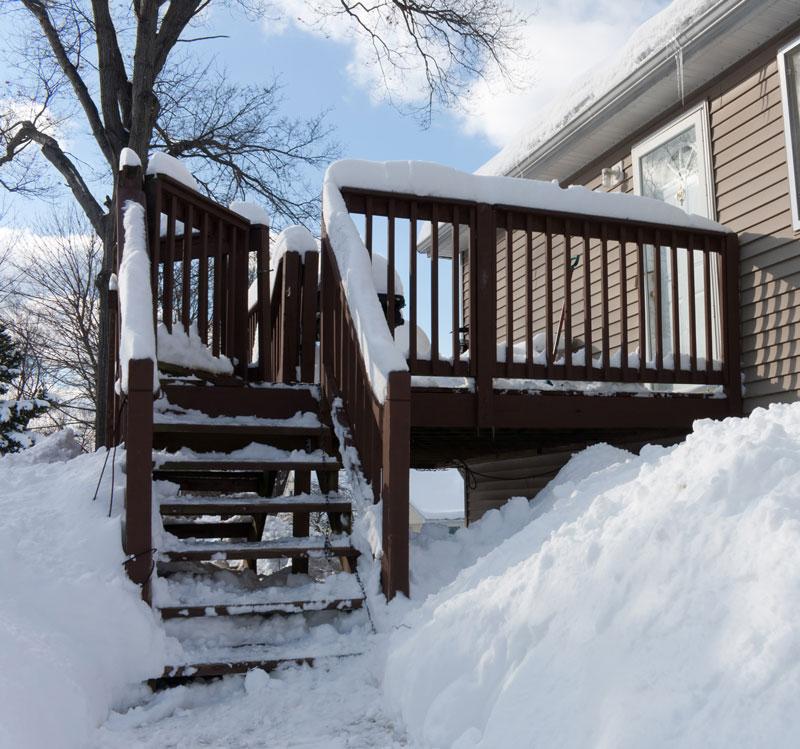 winterize your deck winter maintenance